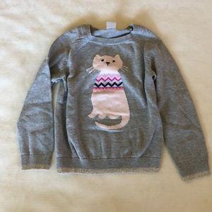 OshKosh Toddler Cat Sweater